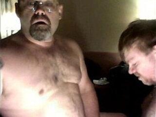 Daddy Bear Facefucking Cub Dave