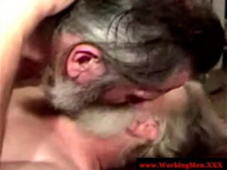 Old mature bears blows buddy