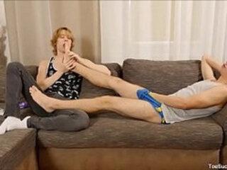 Johannes Lars Gets Toe Sucking Feet Lucas Morrison
