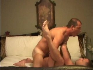 Nasty anal stuffing with lewd dong eating horny muscled studs