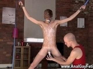 Twink sex Kieron Knight enjoys to blow the scorching jizz blast right