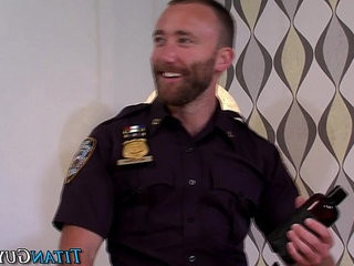 Hung cop fucks partner