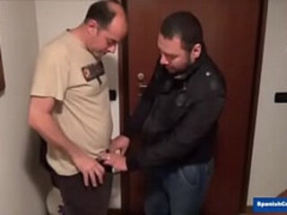 Horny Daddy Fucking His Chubby