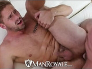 ManRoyale Muscle Wesley Woods fucks the pool guy Trenton Ducati