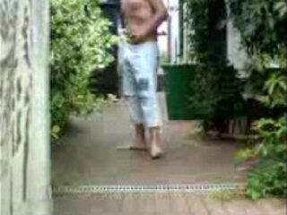 german boy jerk outdoor