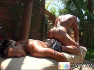 Two Gays Outdoor Sex