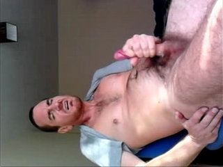 jacking of my oiled dick