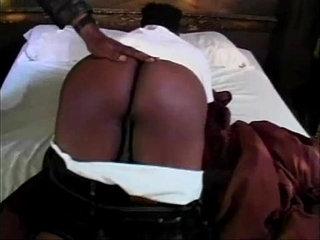 Big Black Ass Getting Spank