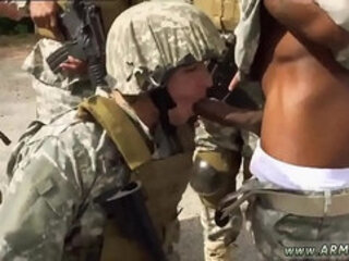 Penis army asia and blond army boy gay porn this soldier proved he