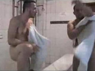 Hot shower room sex!