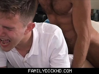 Stepdad Punish Fucks Twink Stepson