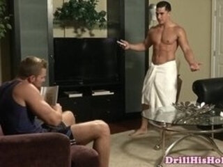 Landon Conrad hungry for cock